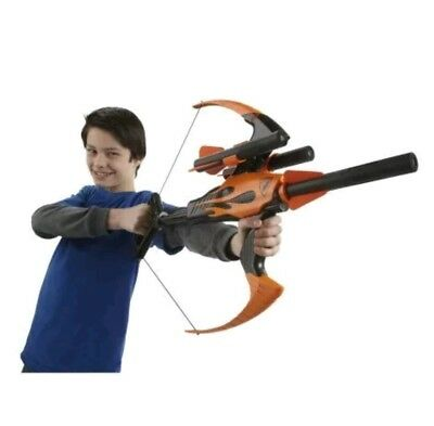 Bow Nerf N Strike Blaster Blazin Arrow Gun Foam Toy And Giant Crossbow  Outdoor