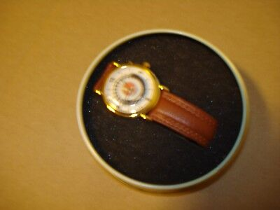lionel wrist watch with train sound and moving train second hand