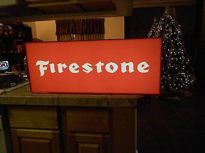 Firestone Lighted Sign