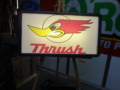 Thrush Lighted Sign