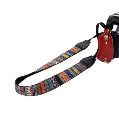 SLR DSLR Camera Neck Shoulder Strap Belt Vintage for Canon Nikon Pentax Sony
