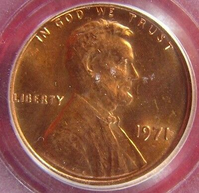 1971 DDO FS-101 Doubled Die Lincoln Memorial Cent PCGS MS 64 RD Cert# 18449113