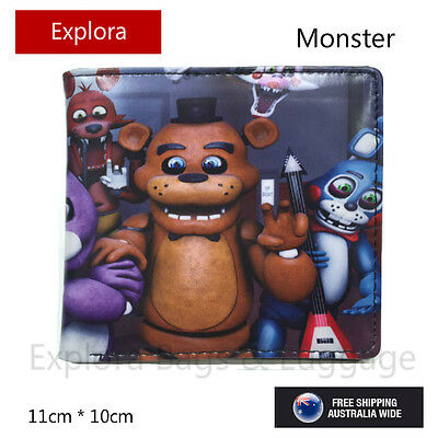 Boys Girls Kids Teenage Biofold PU Leather Wallet -- Five Nights at Freddy's