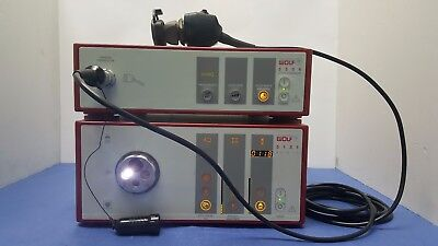 Richard Wolf 5506.962 Camera Head, Endocam Processor 5506,5131 LP Light Source