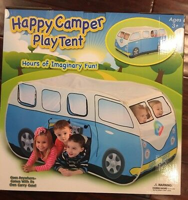 Happy Camper Play Tent- Great Gift For Toddlers!
