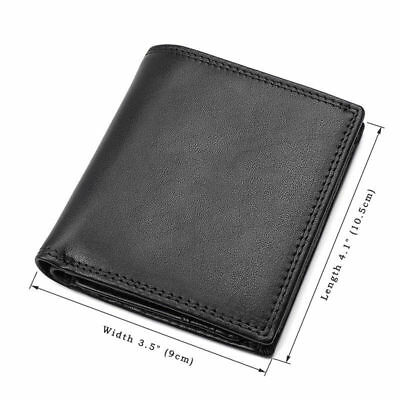 J.M.D Mens Genuine Leather RFID Blocking Bifold Stylish Wallet Purse