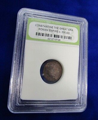 Roman Empire Coin, Cased Constantine The Great Era  C,330 AD
