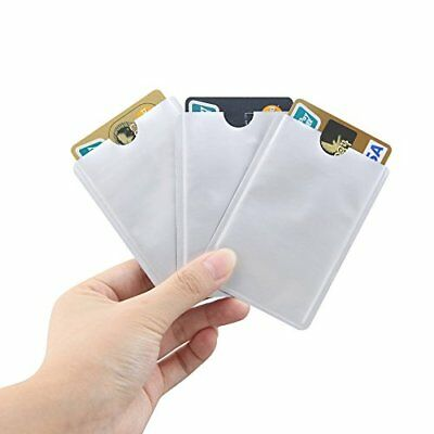 10X  Anti Theft RFID Credit Card Protector RFID Blocking Sleeves Safety Holder