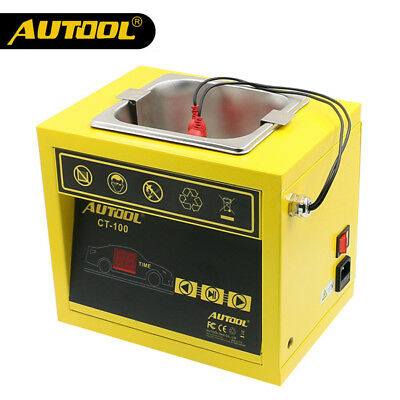 AUTOOL CT100 Petrol Injector Ultrasonic Fuel Injector Cleaner Machine 110V/220V