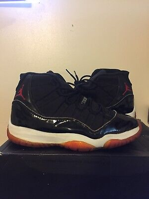 4434457b004 OG 1995 1996 Air Jordan 11 XI Bred Retro Vintage W  Original Box DS ...