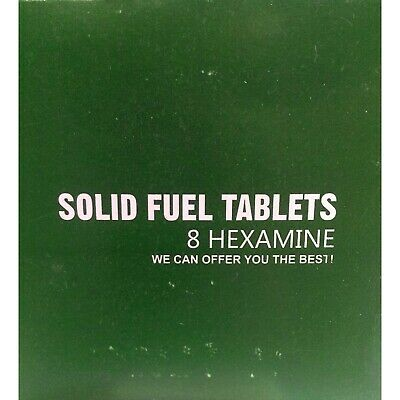 16 Large Hexamine Solid Fuel Tablets Army / Cadets / Camping / Hiking