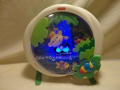 Fisher Price Rainforest Waterfall Peek a Boo Soother Crib Toy