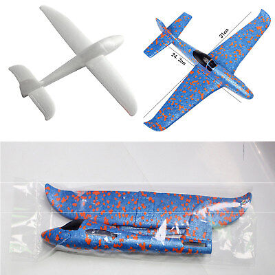 31cm Epp Hand Throw Free Fly Glider Plane Hand Throw Plane Model Toys Kids Gift