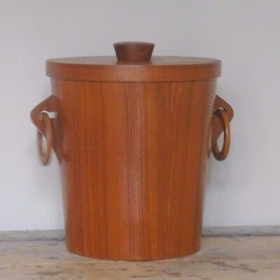 Retro Teak Ice Bucket