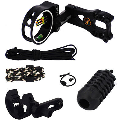 Tactical Hunting Compound Bow Accessories Sight Arrow Rest Stabilizer Archery f4