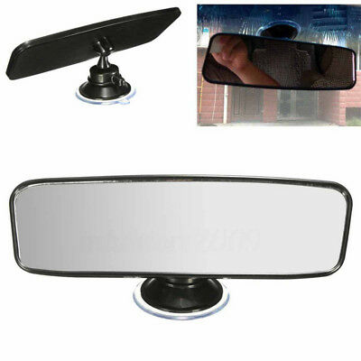 Universal 200mm Car Truck Rearview Convex Curve Wide Rear View Mirror Clip On