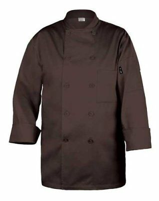 Chef Works CCBA CHO Brown Jacket Coat Size XL