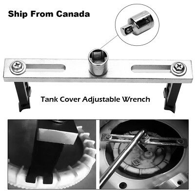 Fuel Pump Lid Tank Cover Remove Spanner Adjustable for inside and outside grip