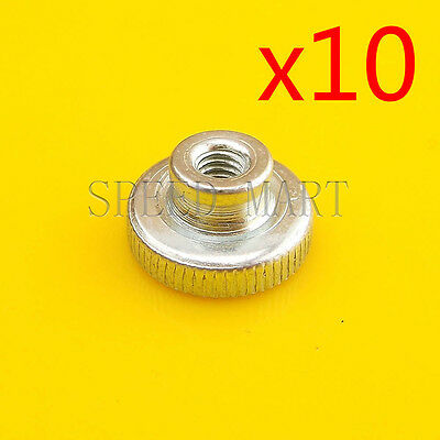 10 PCS M4 Bed Leveling Hand Thumbscrews For 3D Printer Spring-Loaded Heated Bed