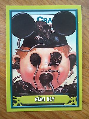 Image * Les CRADOS 3 N°97 * 2004 album card Sticker FRANCE Garbage Pail Kid