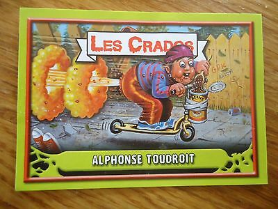Image * Les CRADOS 3 N°30 * 2004 album card Sticker FRANCE Garbage Pail Kid