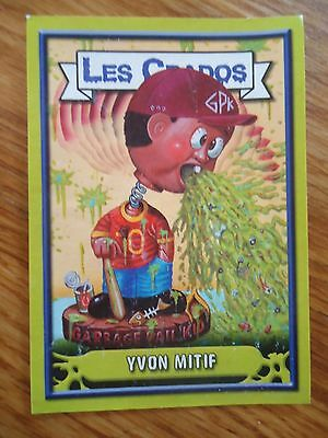 Image * Les CRADOS 3 N°40 * 2004 album card Sticker FRANCE Garbage Pail Kid