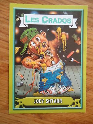Image * Les CRADOS 3 N°135 * 2004 album card Sticker FRANCE Garbage Pail Kid