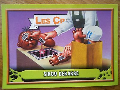 Image * Les CRADOS 3 N°65 * 2004 album card Sticker FRANCE Garbage Pail Kid