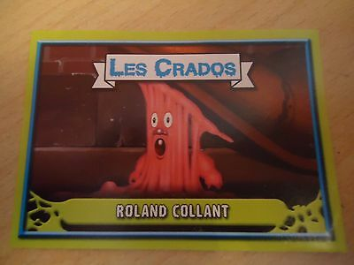 Image * Les CRADOS 3 N°4 * 2004 album card Sticker FRANCE Garbage Pail Kid