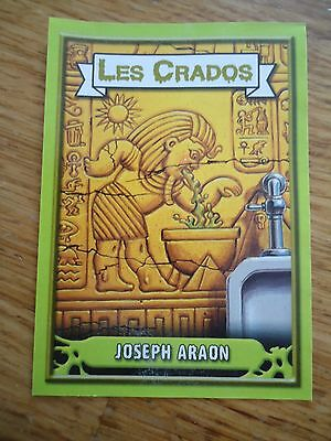 Image * Les CRADOS 3 N°147 * 2004 album card Sticker FRANCE Garbage Pail Kid