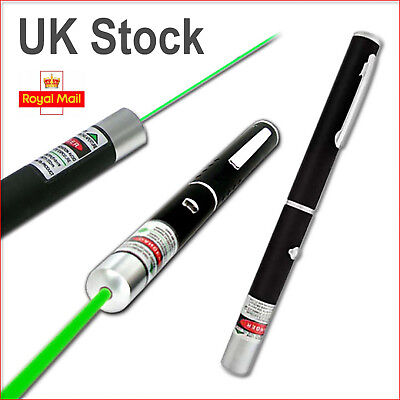 NEW POWERFUL GREEN LASER LAZER POINTER PEN HIGH POWER PROFESSIONAL 532nm 1mW