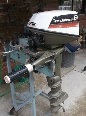 OUTBOARD ENGINE - JOHNSON 6hp