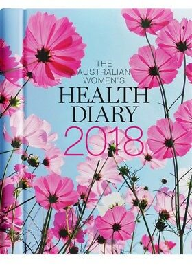2018 Australian Women's Health Diary/Journal A5 Week to View, Postage Included