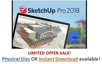 SketchUp Pro 2018 - Full License Serial Number + FULL SOFTWARE INSTANT DELIVERY