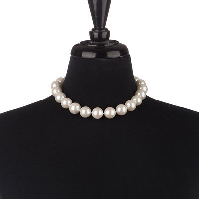 NEW Bowerhaus Hello Jackie Shell Pearl Short Necklace 18mm