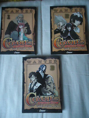 LOT série complète Coyote Ragtime Show Ufotable ASUKA MANGA intégrale 3 tomes