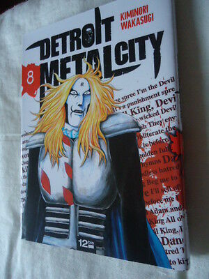 DETROIT METAL CITY Tome 8 DMC MANGA EO VF DEATH KISS ROCK POP MUSIQUE