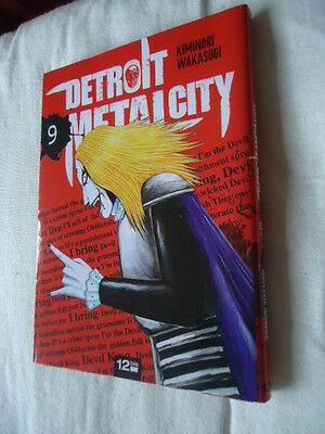 DETROIT METAL CITY Tome 9 DMC MANGA EO VF DEATH KISS ROCK POP MUSIQUE