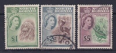 North Borneo 1961 To $5 Which Is Cto