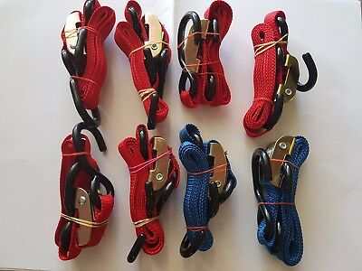 ONEAL MOTORCYCLE TIE DOWN STRAPS - 8 Included