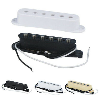3x/set Alnico 5 Guitar Single Coil Pickups Neck/Middle/Bridge Pickup Kit Shell
