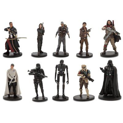 Star Wars Rogue One Charakter Figurensammlung Deluxe - 10 Figuren - NEU/OVP