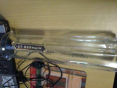 St Germaine Carafe Decanter Cocktail Mixer Stirring stick rod Liqueur Barware