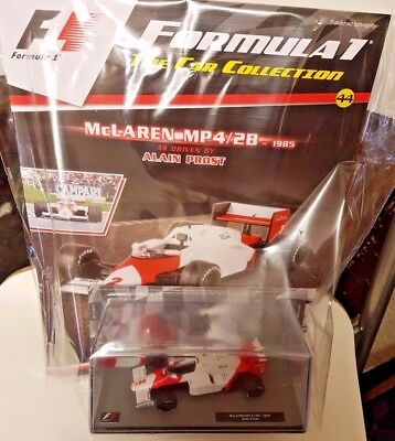 F1 FORMULA 1, =THE MODEL CAR COLLECTION, =ISSUE = 44 = McCLAREN-MP4/2B - 1985