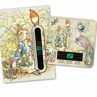 Baby Bath & Room Thermometer - Peter Rabbit  Set