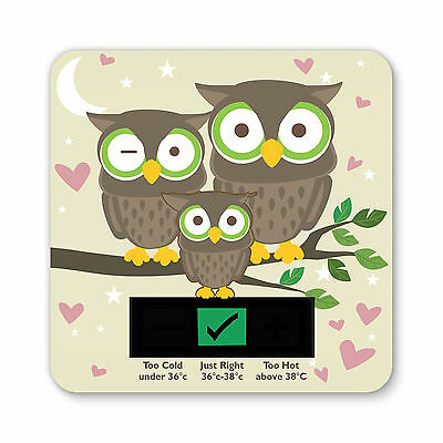 Baby Bath Thermometer -Owl Design