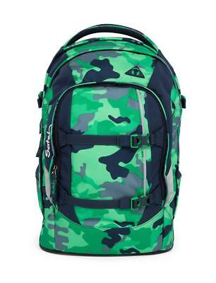 Satch pack School Backpack 48 cm Notebook Compartment Green Camou