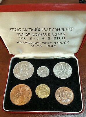 1967 Great Britain Year Type Set