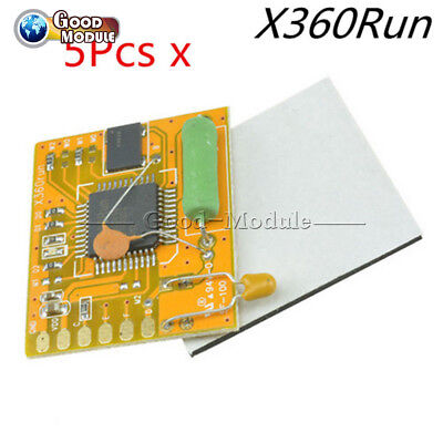 5Pcs X360Run Glitcher Board With Slim XBOX360 96MHZ Crystal Oscillator Build CA