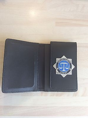Enforcement Agent Leather ID Card holder